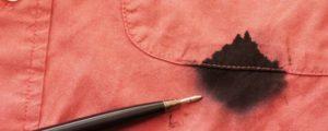 Как да премахнем петно от мастило по дреха