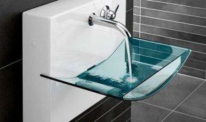 Строеж - стъклена мивка, предимства