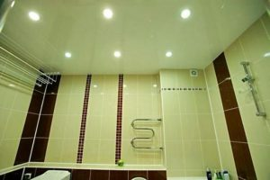 Строеж - окачен таван, тоалетна, влияние