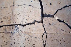 Строеж - трошене, бетон, опасности