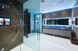 Строеж - осветление, съвременно, баня