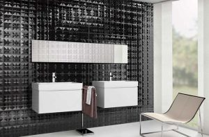 Строеж - черни плочки за баня, опасност, въздействие