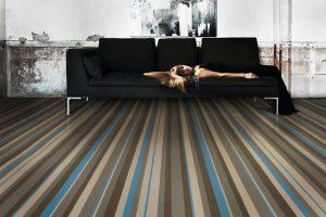 Строеж - подово покритие, самозалепващо се, нанасяне