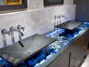 Строеж - мивка, изкуствен камък, суровина