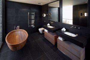 Строеж - баня, черна, правила