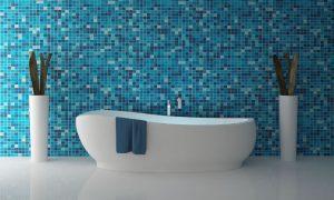 Строеж - баня, синя, дом