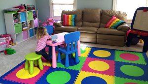 Строеж - мек под, детска, правила