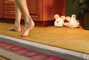 Строеж - покритие, подово отопление, подово